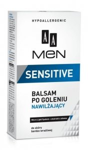 AA Men Sensitive Balsam po goleniu nawilżający  100ml