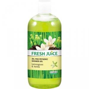 Fresh Juice Żel pod prysznic Trawa Cytrynowa i Wanilia 500ml