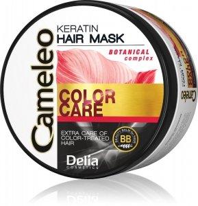 Delia Cosmetics Cameleo Maska keratynowa do włosów farbowanych 200ml