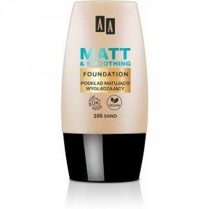 AA Make Up Matt Podkład matująco-wygładzający 105 Sand  30ml