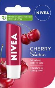 Nivea Lip Care Pomadka ochronna CHERRY SHINE  4.8g