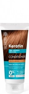 Dr.Sante Keratin Hair Odżywka odbudowująca do włosów łamliwych i matowych  200ml