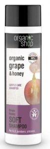 Organic Shop Szampon do włosów Eco Winogrona i Miód