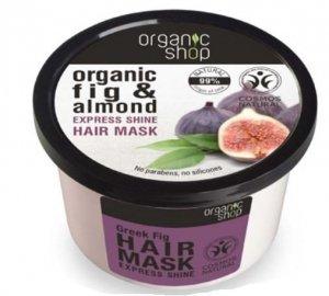 Organic Shop Maska do włosów  z wyciągów organicznych z fig i migdałów 250 ml