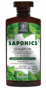 Farmona Saponics Szampon do włosów cienkich i delikatnych  330ml