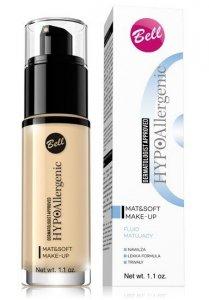 Bell Hypoallergenic Fluid matujący Mat & Soft  nr 02 Natural  30g