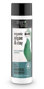 Organic Shop Szampon do włosów Wzmacniający Błękitna laguna