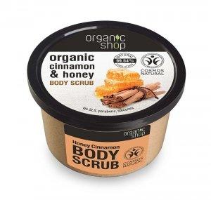 Organic Shop Peeling do ciała Miodowy Cynamon 250ml