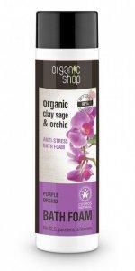Organic Shop Płyn do kąpieli Antystresowy Purpurowa Orchidea BDIH 500 ml