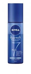 NIVEA Hair Milk Expresowa Odżywka - spray do włosów normalnych,suchych i zniszczonych 200ml