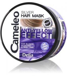 Delia Cosmetics Cameleo Silver Maska do włosów przeciw żółtym odcieniom  200ml