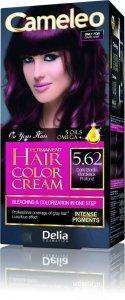 Delia Cosmetics Cameleo HCC Farba permanentna Omega+ nr 5.62 Dark Bordo  1op.