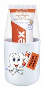 Elmex Pasta do zębów Dla Dzieci 0 do 5 lat  75ml + kubek