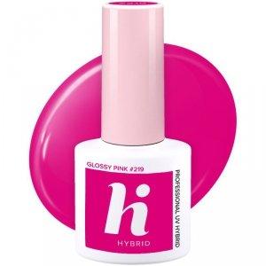 Hi Hybrid Lakier hybrydowy nr 219 Glossy Pink  5ml