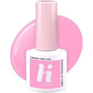 Hi Hybrid Lakier hybrydowy nr 221 Creamy Pink  5ml