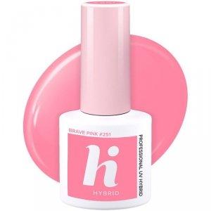 Hi Hybrid Lakier hybrydowy nr 251 Brave Pink  5ml