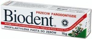 Biodent Pasta do zębów przeciw parodontozie  75g