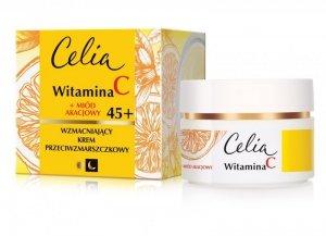 Celia Witamina C 45+ Wzmacniający krem przeciwzmarszczkowy na dzień i noc  50ml