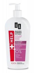 AA HELP Mleczko-kompres do ciała - skóra bardzo sucha