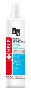 AA HELP Kojący Kompres do ciała S.O.S - skóra sucha i podrażniona  250ml