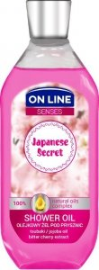 On Line Senses Olejkowy Żel pod prysznic Japanese Secret 500ml