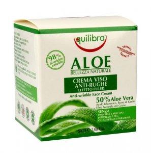Equilibra Aloe Krem przeciwzmarszczkowy 50% aloesu 50ml