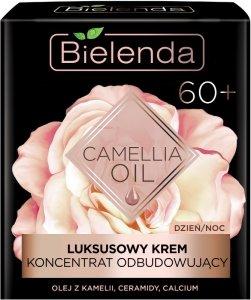 Bielenda Camellia Oil 60+ Luksusowy Krem - koncentrat odbudowujący na dzień i noc  50ml