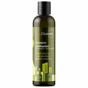 Vis Plantis Element Szampon peelingujący do włosów i skóry głowy z węglem aktywnym  300ml