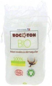 Bocoton Płatki Kosmetyczne Owalne Bio 40Szt.