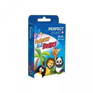 Perfect plast Plaster zestaw dziecięcy ZOO 20szt