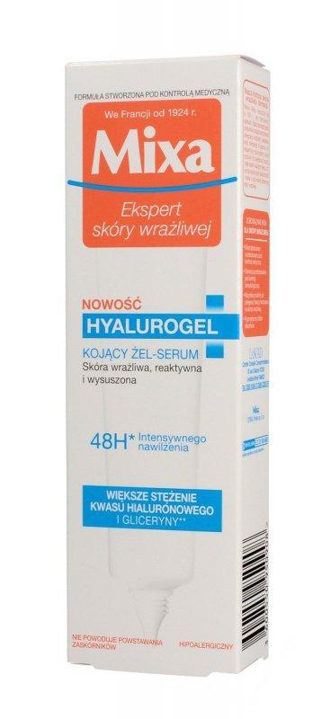 Mixa Hyalurogel Żel-serum kojący do twarzy-cera wrażliwa,reaktywna i przesuszona 40ml