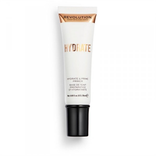 Makeup Revolution, nawilżająca baza pod makijaż Hydrante Primer , 28 ml