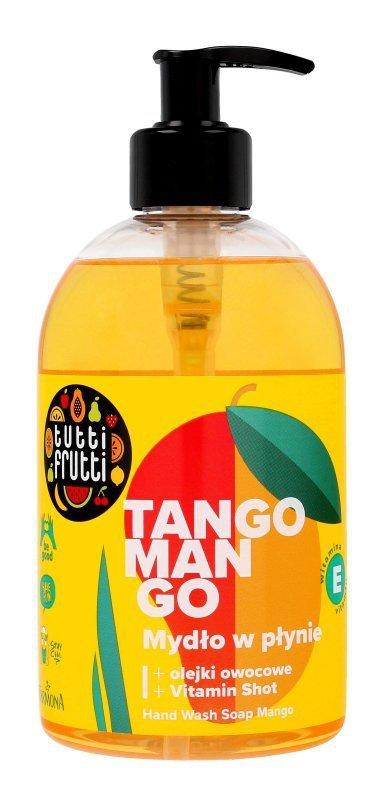 Farmona Tutti Frutti Mydło w płynie Brzoskwinia & Mango  500ml