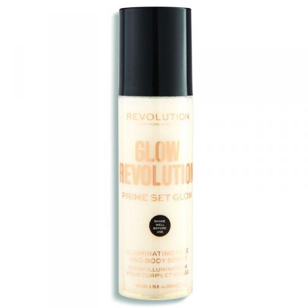 Makeup Revolution Glow Revolution Mgiełka rozświetlająca Eternal Gold 200ml