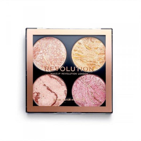 Makeup Revolution zestaw pudrów do konturowania Cheek Kit Fresh Perspective, 1 szt.