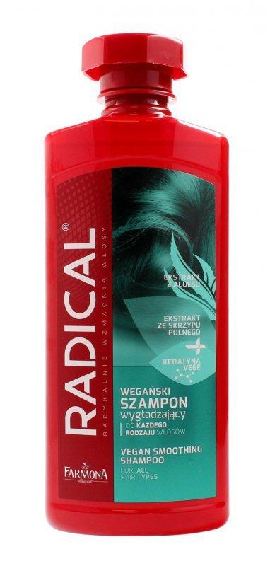 Farmona Radical Vegan Smoothing Mist Szampon wygładzający do włosów  400ml