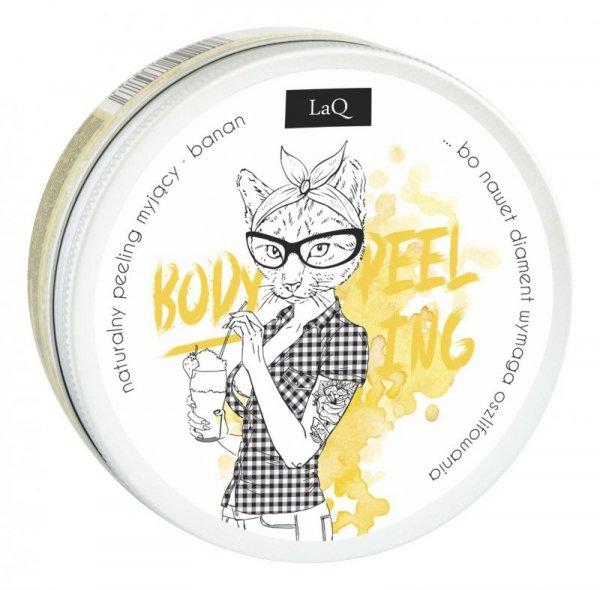 LaQ Body Scrub&Wash Peeling myjący do ciała Banan  200ml