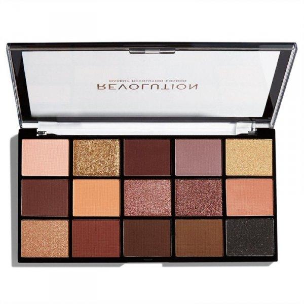 Makeup Revolution Paleta cieni do powiek Reloaded Velvet Rose 1szt