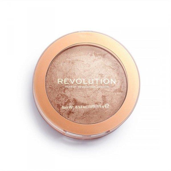 Makeup Revolution Bronzer Reloaded Spiekany Bronzer do twarzy Holiday Romance 15g