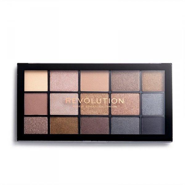 Makeup Revolution Paleta cieni do powiek Reloaded Smoky Newtrals 1szt