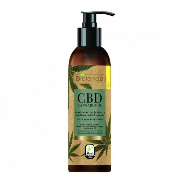 Bielenda CBD Cannabidiol Emulsja do mycia twarzy nawilżająco-detoksykująca  150g