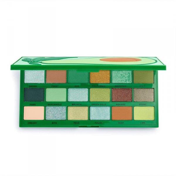 I Heart Revolution Tasty Palette Paletka cieni do powiek (18) Avocado  1szt