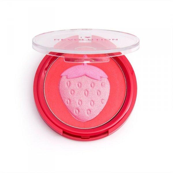 I Heart Revolution Rozświetlacz do twarzy Fruity Blusher Strawberry