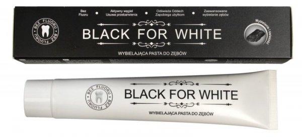 Biomika Black for White Pasta do zębów wybielająca bez fluoru  75ml
