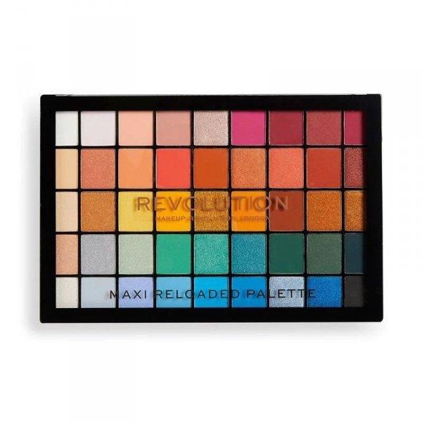 Makeup Revolution Maxi Reloaded Palette (45) Paleta cieni do powiek Big Shot 1 szt.