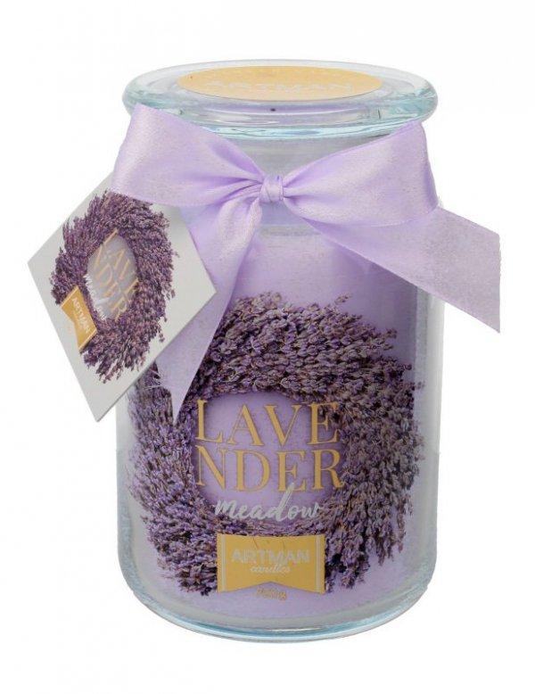 ARTMAN Świeca zapachowa Lavender Meadow słoik duży 1szt-700g