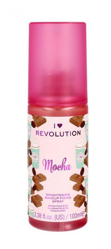 I Heart Revolution Brightening Makeup Fixing Spray utrwalający makijaż Mocha  100ml
