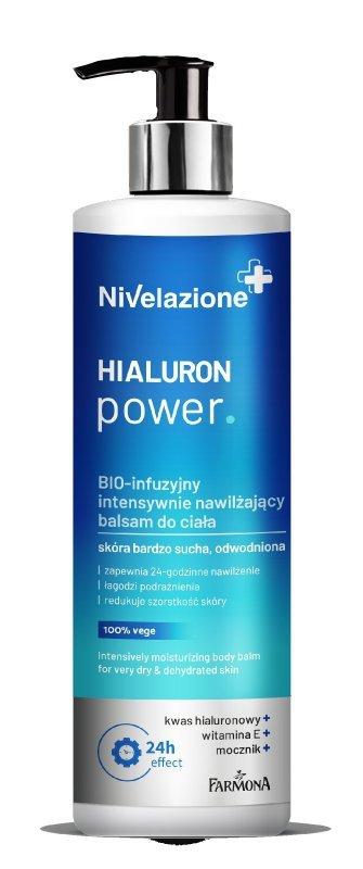 Farmona Nivelazione BIO-infuzyjny intensywnie nawilżający balsam do ciała Hialuron Power  400ml