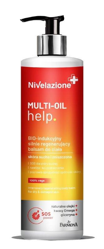 Farmona Nivelazione BIO-indukcyjny silnie regenerujący balsam do ciała Multi-Oil Help  400ml