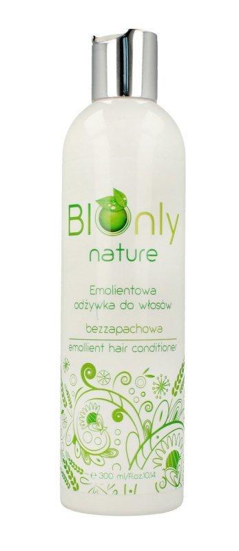 BIOnly Nature Emolientowa Odżywka do włosów suchych i zniszczonych 300ml